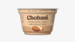 Chobani energises its range with nut butter yoghurts