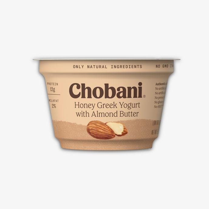 Chobani nut butter range