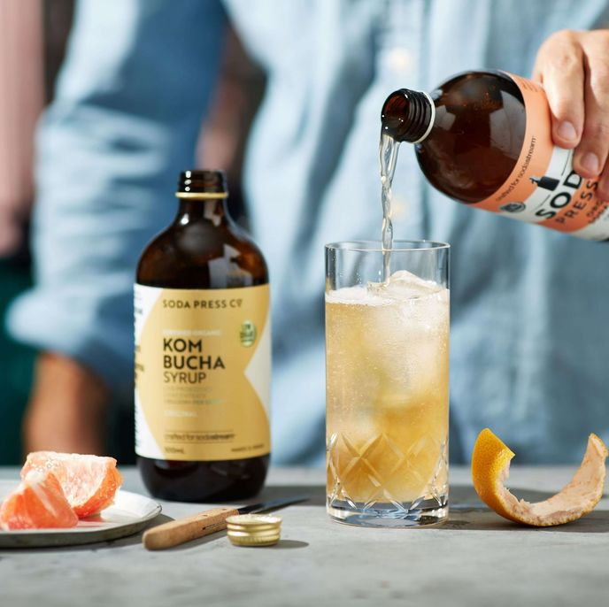 Kombucha Syrup by Soda Press Co, Australia and New Zealand