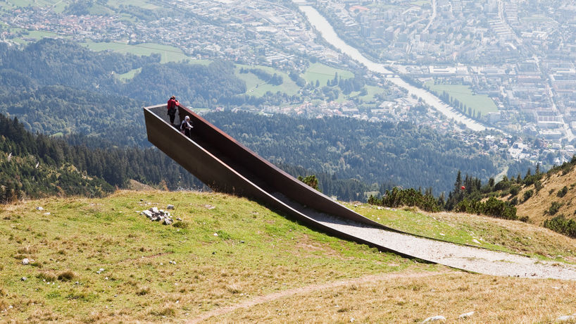 Path of Perspectives, Snøhetta, Innsbruck