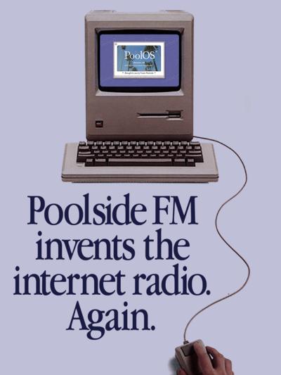 Poolside FM rebrand