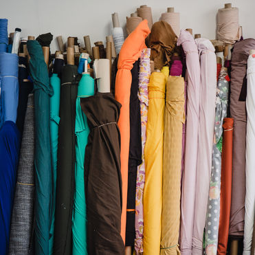 Fabscrap is a thrift shop for recycled fabrics
