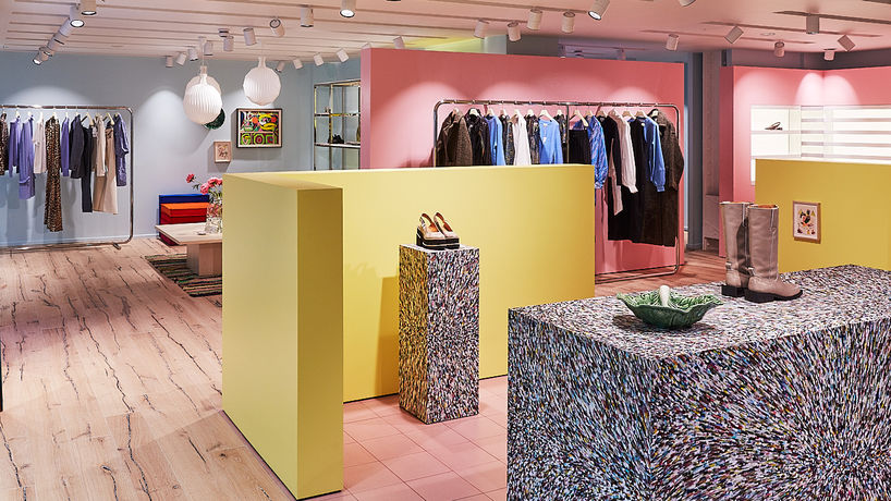 Ganni flagship store, London