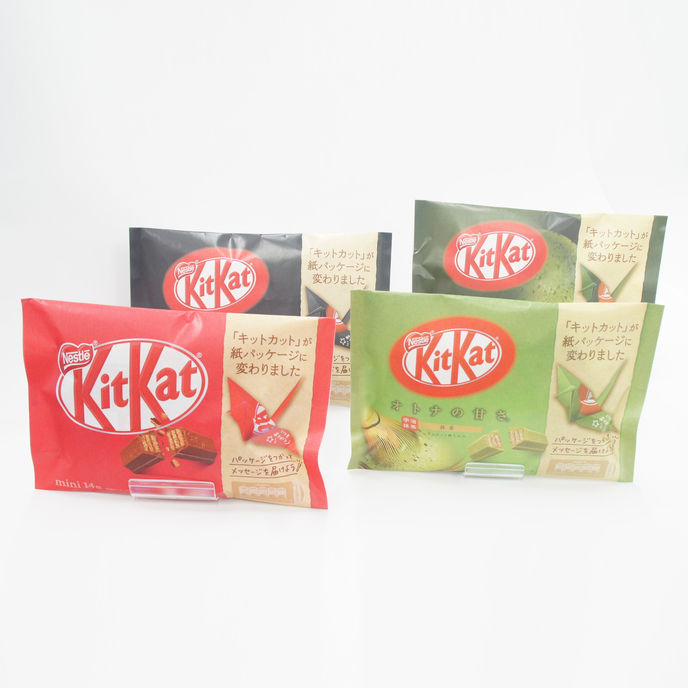Nestlé Japan's KitKat packaging