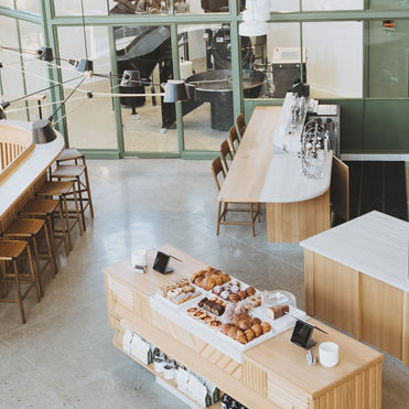 This Californian café doubles as an R&D lab
