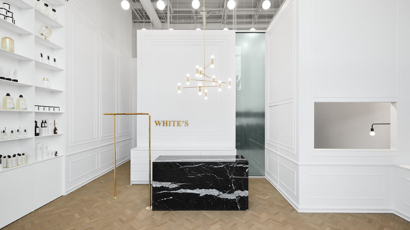 Le Nettoyeurs White's designed by Ivy Studio, Montreal
