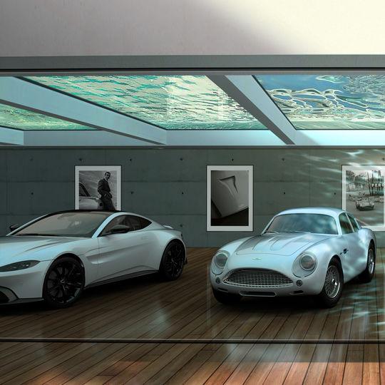 Lsn News Aston Martin S Design Service Turns Garages Into Galleries