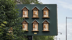 McDonald's turns billboards into beehives