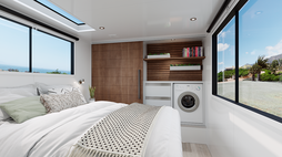 A sustainable camper van for luxury roaming