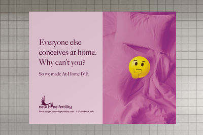 IVF Made Human by New Hope Fertility Center. Campaign by Terri & Sandy