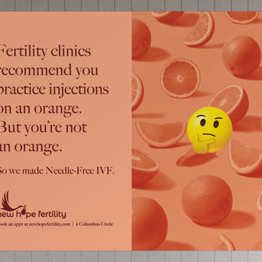 This colourful campaign wants to humanise IVF