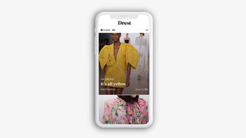 Drest is a shoppable luxury fashion game