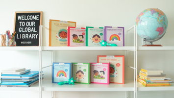 This phygital book helps children become bilingual