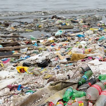 Coca-Cola is recycling and re-using marine plastic