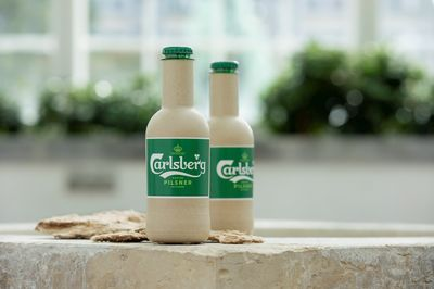 Carlsberg Green Fibre Bottle