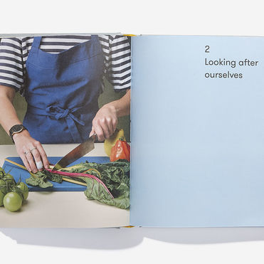A cookbook that explores food's emotional impact