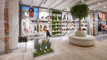 Timberland's latest store champions nature in the city