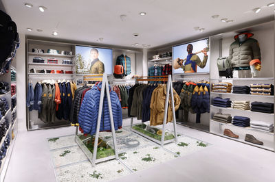 Timberland, store design by Dalziel & Pow, London