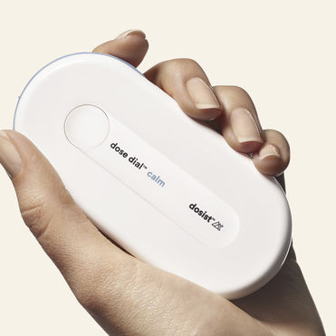 A sleek device for single-dose cannabis tablets