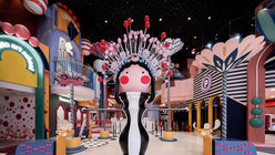 X+Living transforms the mall into a kids' paradise