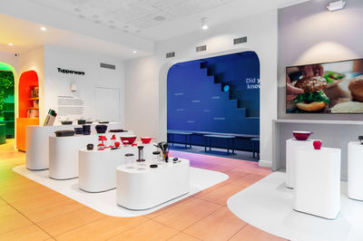Tupperware store, New York