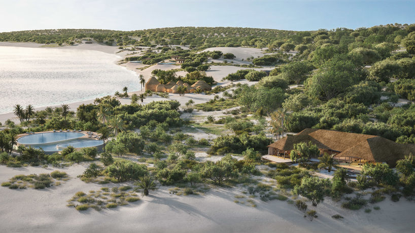 The Kisawa Sanctuary Hotel, Mozambique