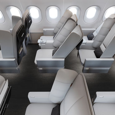 New Territory re-imagines aircraft seating