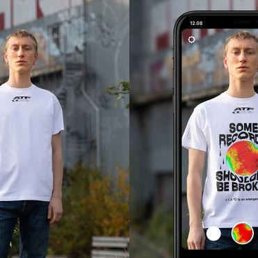 Carlings digitises statement t-shirts for social media