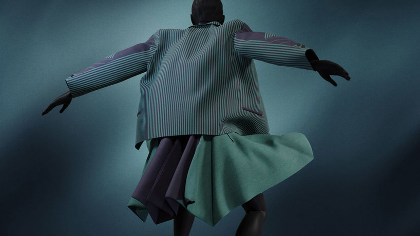 Issey Miyake, Virtual Fashion Archive by Superficial