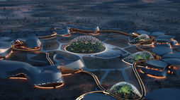 This village suggests how humans could live on Mars