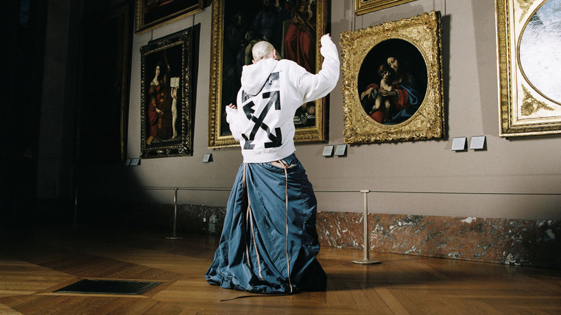 Off-White c/o Virgil Abloh and Musée du Louvre, Paris