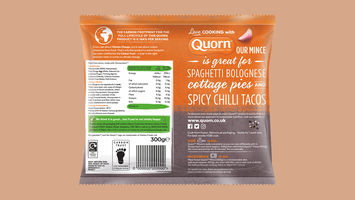 Quorn adds carbon labelling to its products