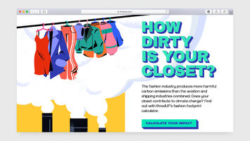 ThredUp calculates shoppers' fashion footprint