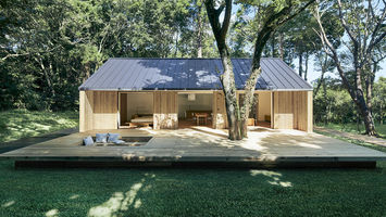 Muji designs simple pre-fab homes for seniors