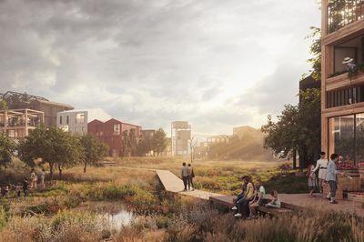 Fælledby by Henning Larsen, Copenhagen