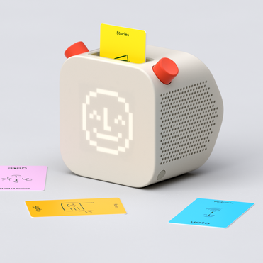 Yoto is a screen-free interactive speaker for kids