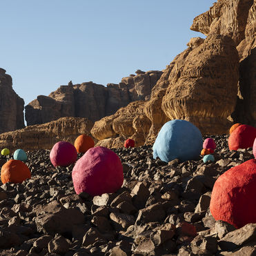 Desert X puts Middle Eastern art in the spotlight