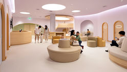 Integrated Field's pastel-hued, child-friendly hospital