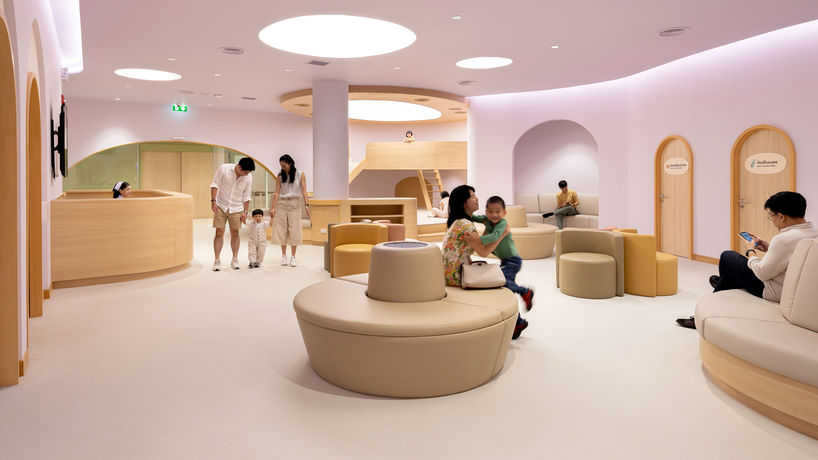 EKH Children Hospital designed by Integrated Field, Thailand