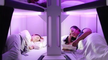Air New Zealand puts bunk beds on board