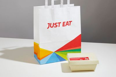 Seaweed-based container by Just Eat, UK