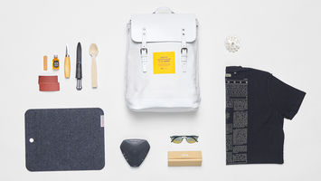 Swedish Design Museum's exhibition in a backpack