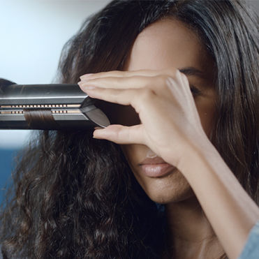 Dyson's straightener halves hair damage