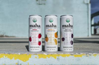 Maha Organic Hard Seltzer