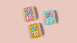 Covid-19: A soap for 20-second hand-washing