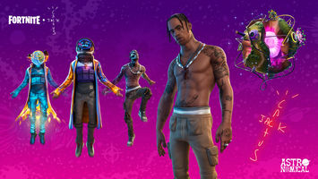 Travis Scott's world 'tour' for Fortnite players