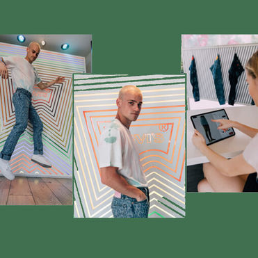Levi's and TikTok experiment with social commerce