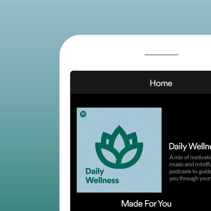 Daily Wellness Playlist by Spotify