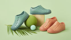 Algae shoes for sustainable families