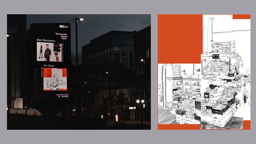 Manchester billboard photographed by Em Hagan @emhagan_ & key artwork by Yves Slater, @yvesslater